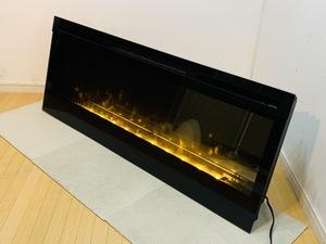 ◎ 【名古屋市】【モデルルーム展示品】Dimplex England 50インチ 電気暖炉 BLF50 Opti-pro Series Synergy-50 リニア壁マウント