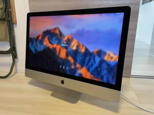 【上位ハイスペック】Apple iMac 27インチ 5k Retinaモデル(Corei5クワッド3.2 / 24GB / RadeonM9 / Late 2015)