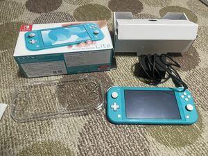Nintendo Switchライトプロスピやるために購入しました! 若干使用感あり中古です動作は異常なし。カバーおまけ付き