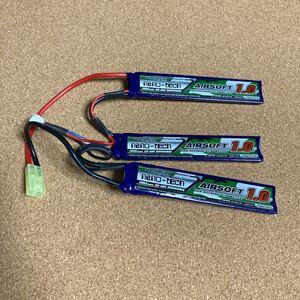 ナノテック 11.1V 1000mA リポバッテリー セパレート