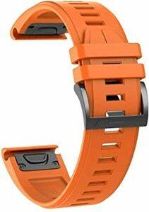 オレンジ GARMIN(ガーミン) Garmin Instinct/Fenix 5/5 Plus/Forerunner 935/