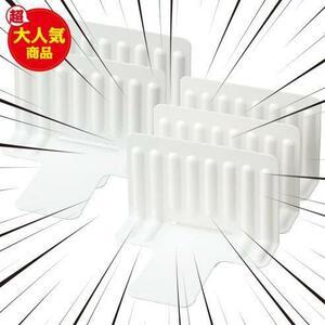 ★パターン(種類):仕切りのみ_ホワイト★ 幅16.5x奥13x高10.5cm like-it スライドできる ライクイット キッチン収納 STK-02 仕切り5枚