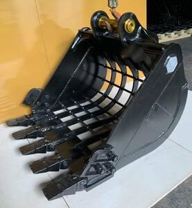 スケルトンバケット(新品 )細目80x100,キャタピラー:303/303.5/MM30/MM35/MM40 クボタ:U30/U35/RX303/RX305/RX306/RX403/RX405/RX406/K030