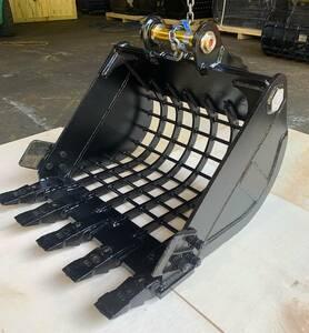 スケルトンバケット(新品)細目60x80,ヤンマー ,ピン= 38 mm.VIO35/VIO40/B3/B4/B25/B27/B32/B37/YB25/YB35/YB251/YB271/YB301/YB351/YB401