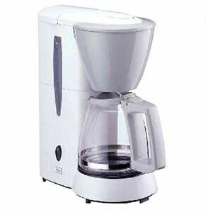 メリタ コーヒーメーカー ホワイト 【1~5杯用・1×2のフィルターペーパーに対応】 JCM-511/W
