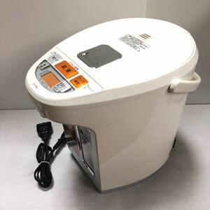 象印 マイコン沸とうVE電気まほうびん 優湯生 ホワイト CV-WA22