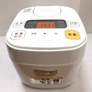 アイリスオーヤマ 米屋の旨み マイコン炊飯ジャー 3合 ホワイト ERC-MA30-W
