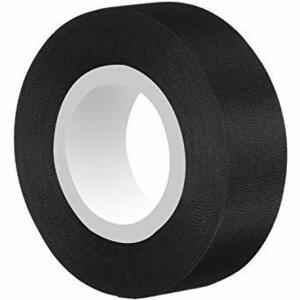 ブラック Tuloka 30mアセテート粘着テープ 温度範囲-40℃~250℃ 布テープ 電線の絶縁保護補修用 家電製品の配線固