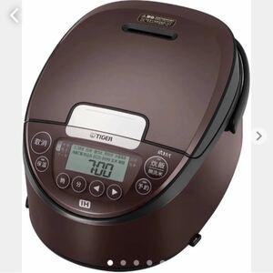 TIGER 炊飯器 1升 JPW-C180TD ダーク ブラウン