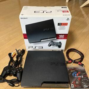 SONY PlayStation3 ブラック CECH-2501A 160GB GRAN TURISMO 5