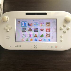 ゲームパッド WiiU Wii Uゲームパッド GAME Nintendo シロ マリオカート 大乱闘スマッシュブラザーズ
