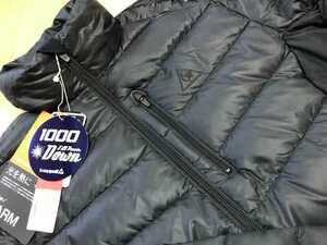 Le coq sportif GOLF(ルコックゴルフ) ヒートナビ +5℃ 1000フィルパワー ダウンジャケット QGMOJK07(BK00)M