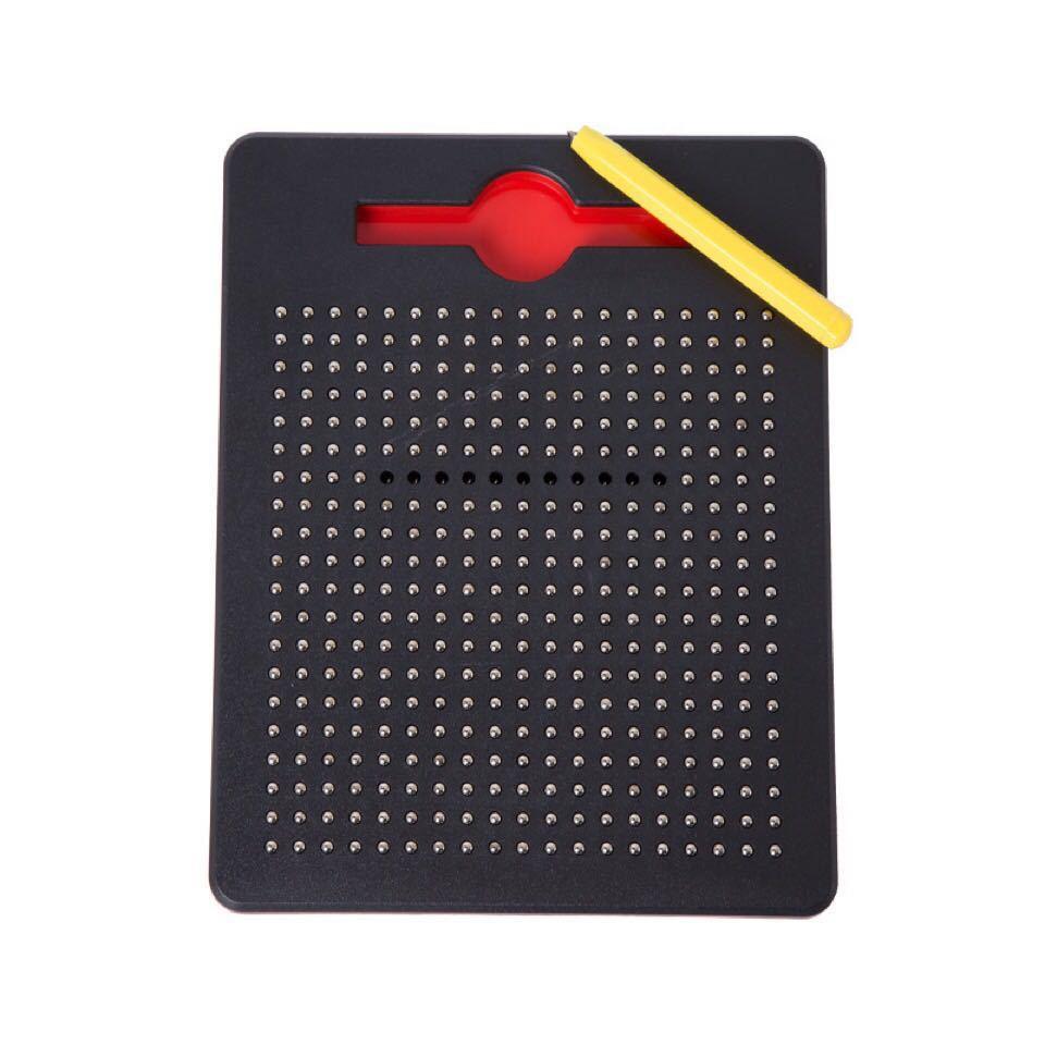 マグタブ 知恵玩具 マグネットタブレット ストレス解消 黒