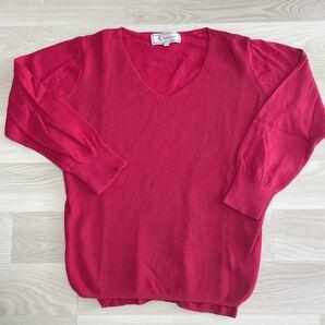ロペピクニック 七分袖 ニット セーター