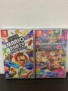 Nintendo Switch ニンテンドースイッチ 任天堂 スーパーマリオパーティ マリオカート8デラックス 新品 未開封