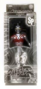 新品即決 ウルトラヒーローシリーズSP ウルトラマンA スペシャルエディション ソフビ バンダイ 2007年 フィギュア ウルトラマンエース