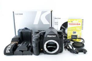◆極美品◆Pentax ペンタックス K-1 一眼レフ ボディ 予備バッテリー 16GBメモリ 元箱付 6カ月動作保証 即決送料無料