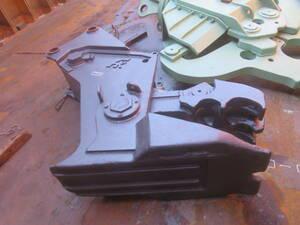 油谷№66 小割 FK 解体 アタッチメント 0.7~0.9クラス コンクリート 圧砕機 中古 小割機 重機 RC造解体 20トンクラス ショベル油圧圧砕機
