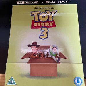 トイストーリー3 限定スチールブック仕様 [4K UHD+Blu-ray リージョンフリー