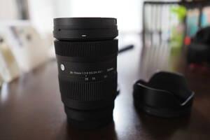【送料無料】新品級 SIGMA 28-70mm F2.8 DG DN Contemporary Lマウント