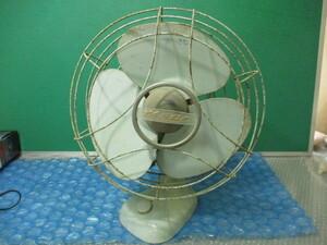 昭和レトロ 明電舎 扇風機 DZ-304E 昔の扇風機 当時物 アンティーク 100V 不動 ジャンク品