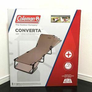 【新品未使用】 コールマン Coleman コンバータ  コットン アウトドア キャンピングベッド 折りたたみ式