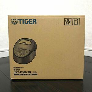 【メーカー保証2022.9月迄|新品未開封】タイガー TIGER 炊飯器 5.5合炊き JKT-P100TK ダークブラウン