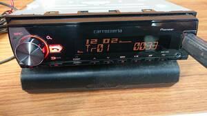 MVH-7200 1DIN carrozzeria Bluetooth USB オーディオ