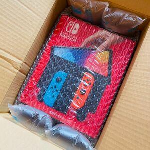 【新品 未開封品】Nintendo Switch(有機ELモデル) Joy-Conネオンブルー/ネオンレッド[HEGSKABAA]