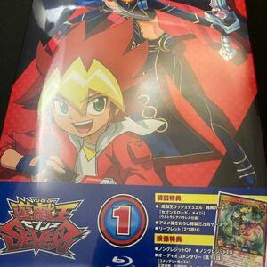 BD 遊☆戯☆王SEVENS DUEL-1 (Blu-ray Disc) [マーベラス] ラッシュデュエル 特典カード無し