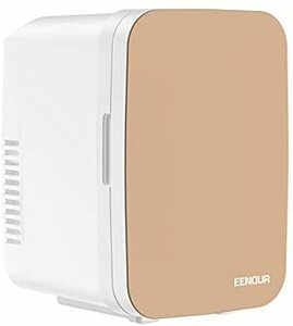 EENOUR 冷温庫 4L 小型 ポータブル冷蔵庫 保冷 保温用 ペルチェ式 省エネ 静音 AC/DC給電 僅か1.7kgと軽量 ミニ型 持ち運び便利 12V車載用