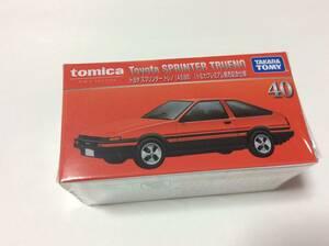 トミカ トヨタ スプリンター トレノ AE86 トミカプレミアム発売記念仕様 トミカプレミアム 未開封