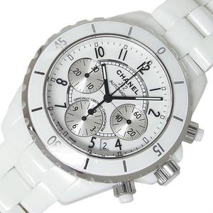 シャネル CHANEL J12 クロノグラフ H1007 自動巻き メンズ 腕時計 中古