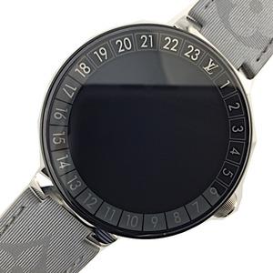 ルイ・ヴィトン LOUIS VUITTON タンブール ホライゾンV QA051Z メンズ 腕時計 中古