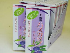 【北海道グルメマート】北海道限定品 ハスカップキャラメル 18粒入 10箱セット