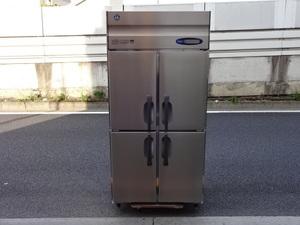 ※動作良好※◆2015年製◆ホシザキ 縦型4ドア冷蔵庫 900x650/100V◆HR-90ZT◆ta93