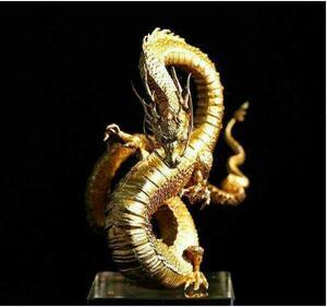 ★極上品質★純銅手作レトロドラゴンドラゴンモデル 置物 鎮宅 辟邪 装飾品 工芸品