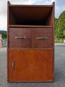 小引き出し 小物入れ 木製 収納箱 レトロ アンティーク