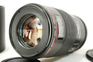 ☆極上品☆【動作保証・点検済】キャノン Canon 単焦点マクロレンズ EF100mm F2.8L マクロ IS USM フルサイズ対応