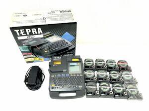TEPRAPRO テプラプロ SR828 テプラ テープ付 未使用の物有1018②