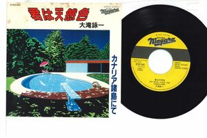7 Eiichi Ohtaki Kimi ha Tennensyoku/Canary Syotou 07SH944 NIAGARA Japan Vinyl /00080