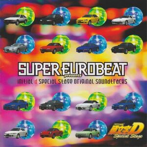 3CD Game Music Super Eurobeat Presents Initial D AVCA14600 Avex Mode Japan /00330