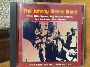 The Johnny Shines Band - 「Masters Of Modern Blues」CD