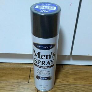 マンダム メンズヘアスプレー スーパーハード 無香料 230g 長時間持続・ベタつかない・速乾 マンダム