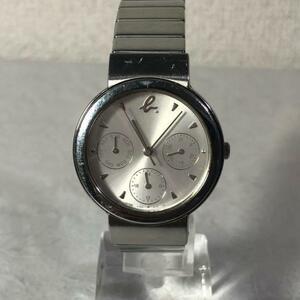 【稼働品】agnes b. アニエス ベー 腕時計 クォーツ シルバー