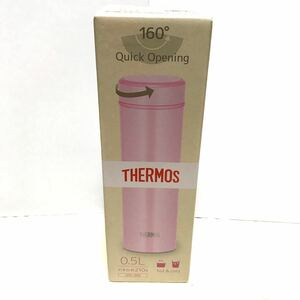 サーモス 水筒 真空断熱ケータイマグ 500ml ライトピンク JOG-500 LP