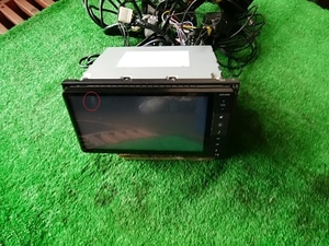 k#830 タントカスタムRS DBA-LA600S 平成26年12月 純正 SDナビ NSZN-W65D ETC付連動 本動作確認 DVD TV CD AM/FM Bluetooth VICS 取説付