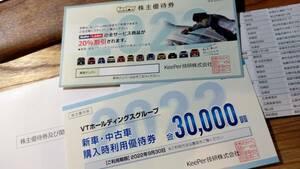 キーパー技研 KEEPER 株主優待20パーセント割引券