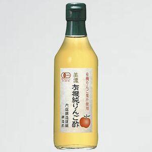 未使用 新品 有機純りんご酢 美濃 R-WE 360ml
