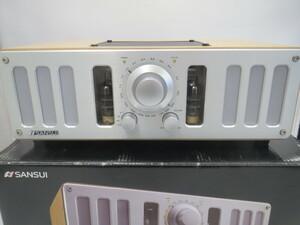 【中古品】SANSUI 真空管搭載ハイブリッドアンプ内蔵スピーカー  Bluetooth SHT-9002 (管理番号:060109)
